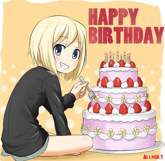 Аниме поздравления с днем рождения сестре